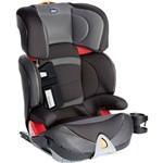 Cadeira Oasys 2-3 Fixplus Evo Stone Chicco