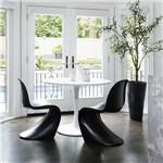 Cadeira Panton Chair Preto Byartdesign