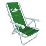Cadeira Reclinavel Mor Lebes 2231 Alumínio