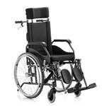 Cadeira Rodas Fit Reclinável 44 Cm Preto Jaguaribe