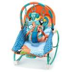 Cadeirinha de Balanço e Descanso para Bebê Reclinável Elefantes Multikids Baby - Bb363