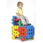Cadeirinha Locomotiva Monte Play Alpha Brinquedos Colorido