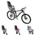 Cadeirinha Traseira de Bebê para Bicicleta RideAlong Cinza, Laranja e Cinza Escuro Thule
