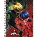 Caderneta Espiral Capa Dura 1/8 Miraculous: Ladybug 96 Folhas (Pacote com 4 Unidades) - Sortido 156914