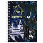 Caderno 1/4 Batman 96 Folhas Foroni 1015011