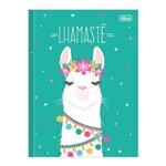 Caderno 1/4 Brochura Hello! - Lhamastê - 80 Folhas - Tilibra