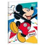 Caderno 1/4 Brochura Mickey - Colorido - 96 Folhas - Tilibra