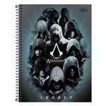 Caderno Assassins Creed Legacy - 1 Matéria - Tilibra