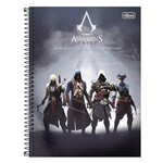Caderno Assassins Creed - Work In The Dark - 1 Matéria - Tilibra