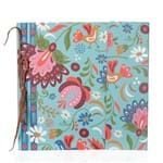 Caderno Assinatura C/ Aba G - Floral Russo