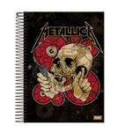 Caderno Bandas Rock 10 Materias 200 Folhas Foroni