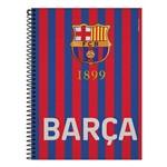 Caderno Barcelona - Barça Listrado - 10 Matérias - Foroni