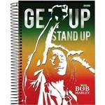 Caderno Bob Marley 96 Folhas Jandaia