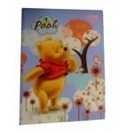 Caderno Brochura 1/4 Capa Dura 96 Folhas Pooh 136191 Tilibra 136191