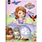 Caderno Brochura 1/4 Capa Dura Sofia The First Top 96 Folhas
