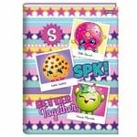 Caderno Brochurão Shopkins 96 Folhas Jandaia 1027702