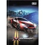 Caderno Brochura 1/4 X-racing com 96 Folhas 132039 Tilibra