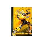 Caderno Brochura Capa Dura Bumblebee Fundo Amarelo 1/4 80 Folhas - Tilibra