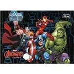 Caderno Brochura Capa Dura Caligrafia Horizontal Avengers 40 Folhas - Sortido (Pacote com 5 Unidades)