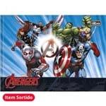 Caderno Brochura Capa Dura Desenho Avengers Assemble 40fls (Pacote com 15 Unidades)