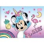 Caderno Brochura Capa Dura Desenho Minnie 40 Folhas - Sortido (Pacote com 5 Unidades)
