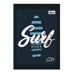 Caderno Brochura Capa Flexível 1/4 96 Folhas D+ Surf Tilibra