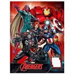 Caderno Brochura Cd Caligrafia Avengers 40 Folhas Tilibra