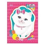 Caderno Brochura Jolie Pet - Gato Branco - 80 Folhas - Tilibra