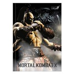 Caderno Brochura Mortal Kombat X - Goro - 80 Folhas - Tilibra