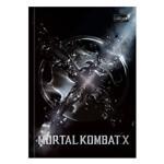 Caderno Brochura Mortal Kombat X - Símbolo - 80 Folhas - Tilibra