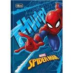 Caderno Brochura Pequeno Capa Dura Spider-man Top 48 Folhas Pacote com 5 Tilibra