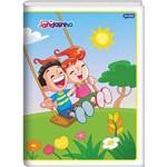 Caderno Brochura Pequeno Jandainha 96 Folhas Pacote com 10 Jandaia