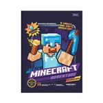 Caderno Brochura Pequeno Minecraft - Adventure - Foroni