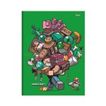 Caderno Brochura Pequeno Minecraft - Help - Foroni