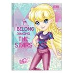 Caderno Brochura Polly Pocket - Stars - 80 Folhas - Tilibra