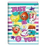 Caderno Brochura Shopkins - Listras - 96 Folhas - Jandaia