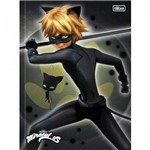 Caderno Brochura Top Cat Noir 80f Tilibra