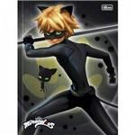 Caderno Brochura Top Cat Noir 80f Tilibra
