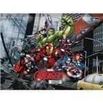 Caderno Brochura Universitário Capa Dura Desenho Avengers 80 Folhas - Sortido (Pacote com 5 Unidades)