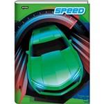Caderno Brochura Universitario Cd 96f Speed Jandaia
