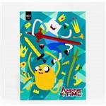 Caderno Brochurão 96 Folhas - Adventure Time