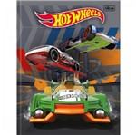 Caderno Brochurao 96f Cd 146153 Hot Wheels Tilibra