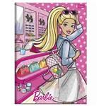 Caderno Brochurao C/D 96 Folhas Barbie Foroni