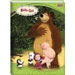 Caderno Brochurao Capa Dura Masha e o Urso 96fls. Jandaia