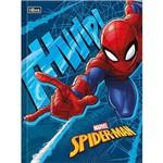 Caderno Brochurão Capa Dura Spider-man Top 48 Folhas Pacote com 5 Tilibra