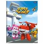 Caderno Brochurão Super Wings 96 Folhas Foroni 1015014