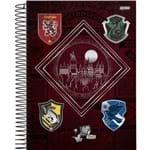 Caderno Capa Dura 15 Matérias Harry Potter 300 Folhas Pacote com 2 Jandaia