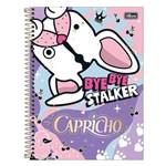 Caderno Capricho - Cachorrinho - 1 Matéria - Tilibra