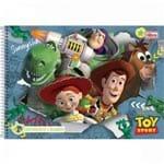 Caderno Cartografia C/D 96 Folhas Toy Story 3 Tilibra