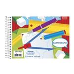 Caderno Cartografia Espiral 48 Folhas Capa Simples Foroni